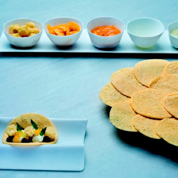 Tacos dulces de Lluís Costa