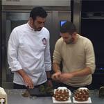 Uno de los asistentes que expuso su propio producto fue Jordi Morelló, de Ochiai Pastisseria