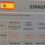 Los horarios por los que se regirá el equipo español durante sus dos días de actuación