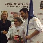 Francia, después de romper pieza de azúcar, consigue al menos el premio especial al mejor Espríritu de Equipo