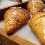 El croissant de mantequilla
