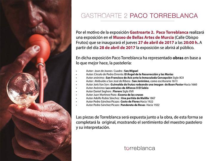 Cartel gastroarte2 Paco Torreblanca