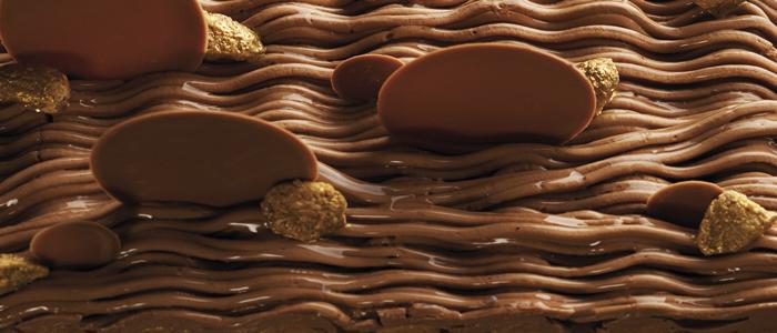 Postre chocolate, almendra, mandarina en 3 formatos. Fotos Pablo Baracat
