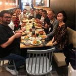 comida curso Raúl Bernal en Aula Ochiai