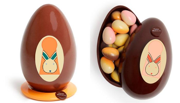 huevos misteriosos de Pierre Marcolini