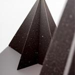 abeto estrella de chocolate