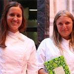 Mejores Alumnos de Seguridad Alimentaria SAIA, Elena Schmidt, Laia Almirall y Gina Miserachs(ausente)