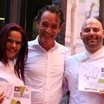 Mejor Decoración de Chocolate y Mejor Escaparate TGS para Sebastián Rumanezco y Olga Cros