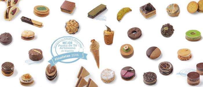 Las 30 Pastas de Té finalistas del Premio a la Mejor Pasta de Té Artesana de España 2016