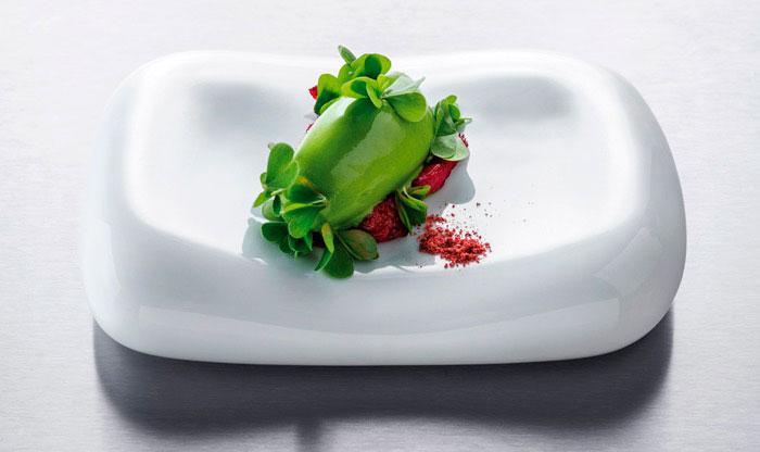 Acedera y fresa de Poul Andrias