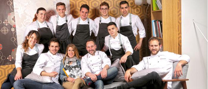 Foto grupo Chocolate Academy de Barcelona