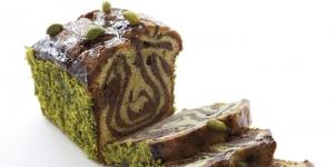Imagen de Cake Marmoleado de Chocolate y Pistacho, de Florent Cantaut