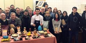 Imagen de Las monas de Pascua de Lluís Costa en el Gremi de Pastisseria de Lleida