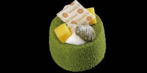 Imagen de Tarta Mangocha de mango y té verde Matcha de Aya Higuchi