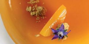 Imagen de Más fruta y menos huevos. Tarta Sol de mango y pasión