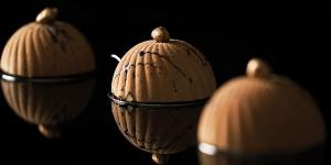 Imagen de Émotion de Ricardo Arriel con chocolate y vino de Oporto