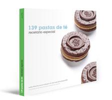 """Portada """"139 Pastas de Té. Recetario especial."""""""