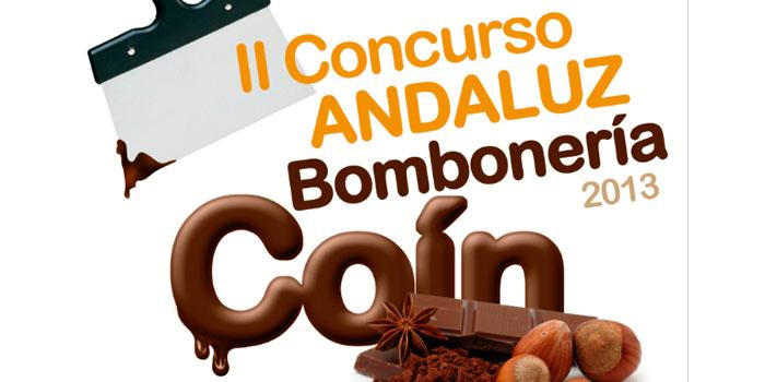 fragmento del cartel del concurso de bomboneria andaluz