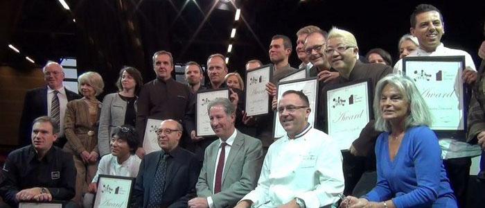 Los premiados por la Guía Croqueurs de Chocolat 2013