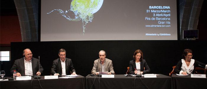 Rueda de prensa presentación de Alimentaria 2014