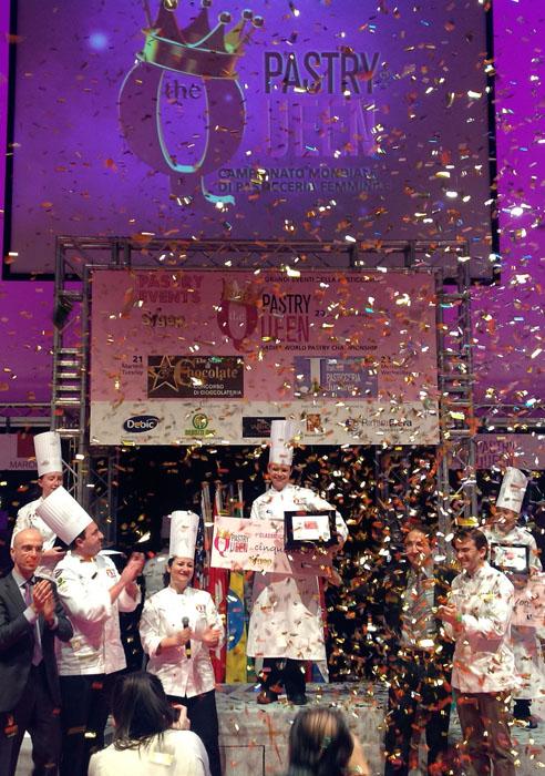 Entrega de premios en Pastry Queen 2014