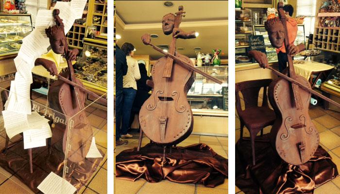 El violonchelista de chocolate, por Jesús Veiga