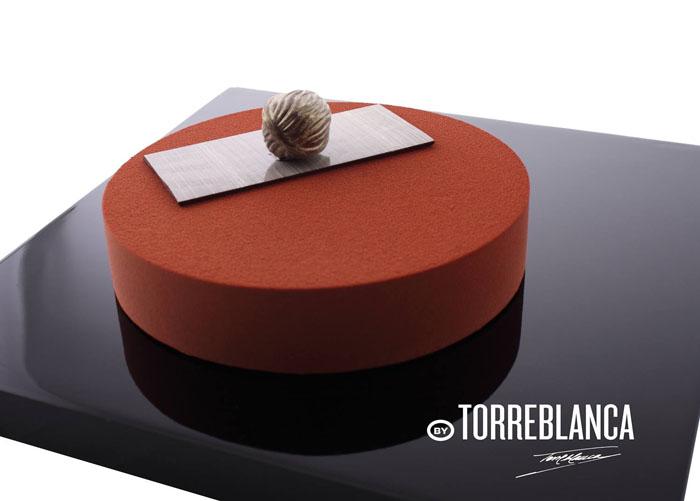 Una de las nuevas tartas que se exhibirán en las vitrinas de By Torreblanca
