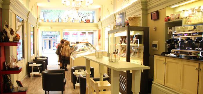 aspecto de la pastelería Via Vi reformada