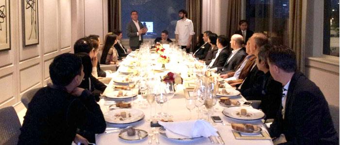 Table chef de Jordi Bordas en Hong Kong