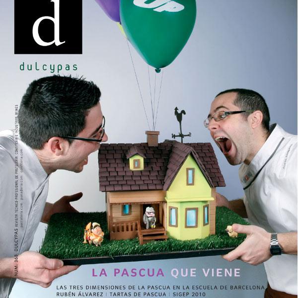 Portada Dulcypas de Pascua Jordi Sempere y Raúl Bernal