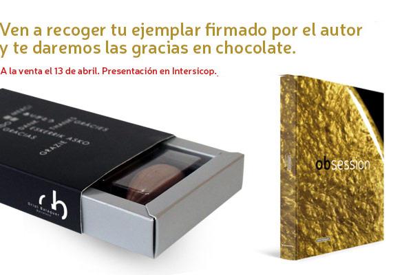 Ven a recoger tu ejemplar y te daremos las gracias en chocolate