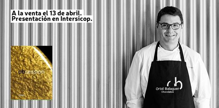 Obsession, de Oriol Balaguer. A la venta el 13 de abril.