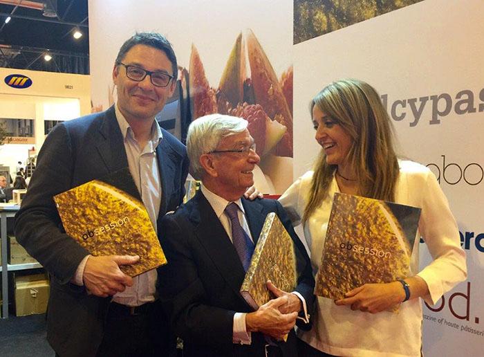 Oriol Balaguer, Rafael Ansón y Esther Vilà