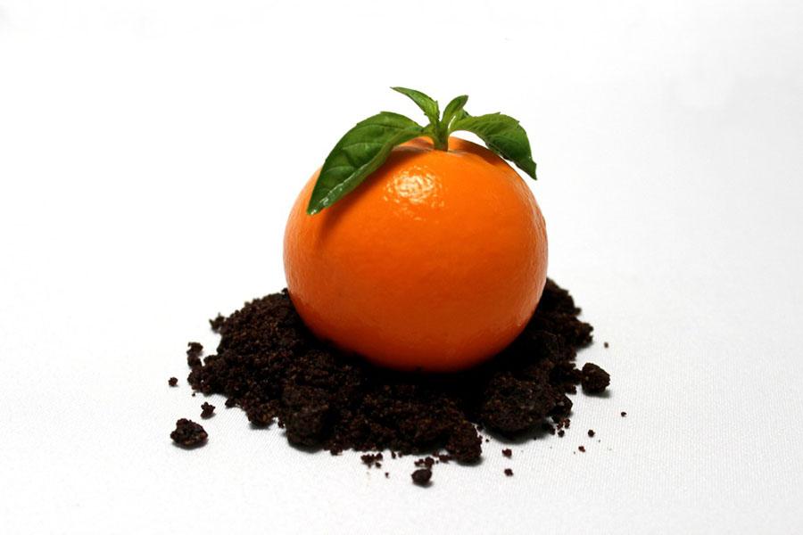 La Postrería y su mandarina cheesecake