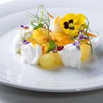 Uno de los platos de Antonio Bachour