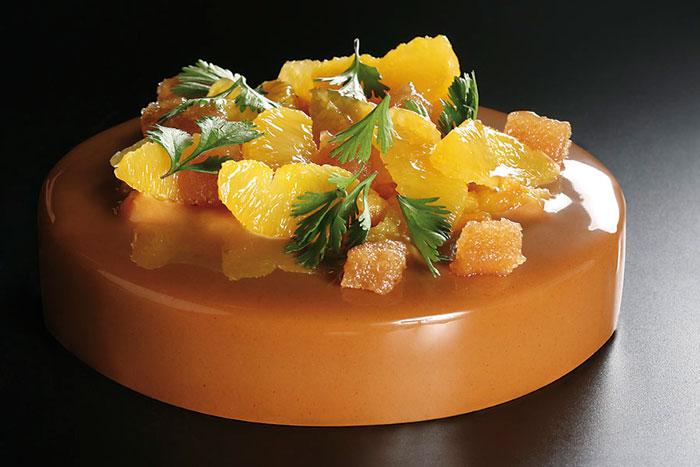 Pan de especias de chocolate y naranja de Yann Duytsche