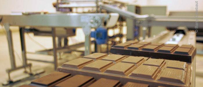 Línea de fabricación de Barry Callebaut