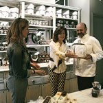 Entrega a la pastelería Hofmann de premio pasta de té de Dulcypas