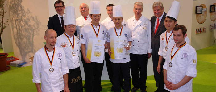 iba-cup 2012, The world's best confectioners, award ceremony