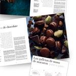 algunas páginas interiores del nuevo libro de Pierre Hermé sobre macarons
