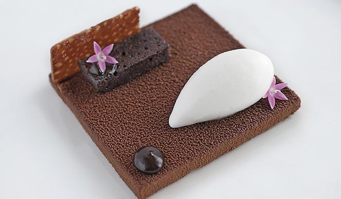 Texturas de chocolate, de Samantha Mendoza