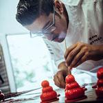 Receta Hans Ovando. Pastry Chef Cross the Borders