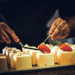 Detalle creación Pastry Chef Cross the borders