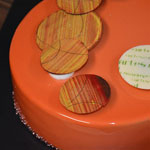 Tarta naranja de Carles Mampel
