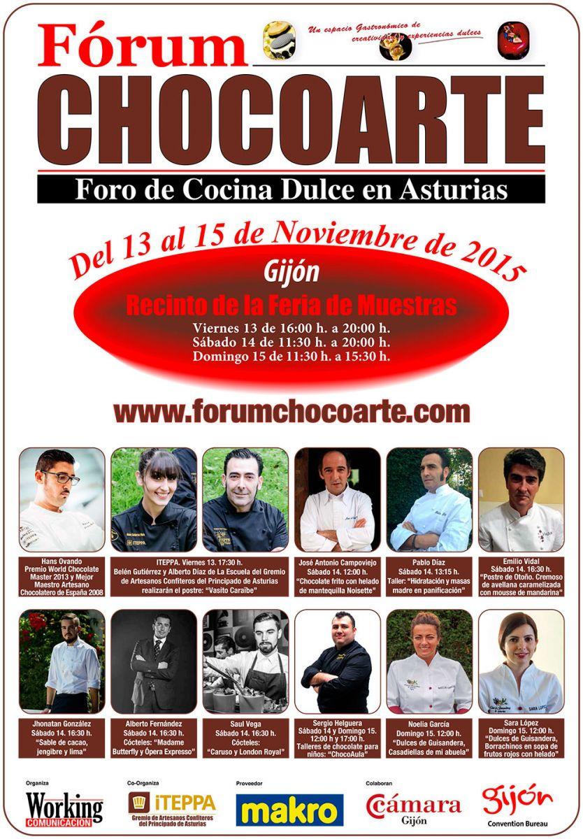 cartel chocoarte