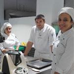 alumnos ESPV elaborando recetas