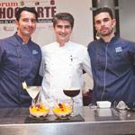 Fernández, Vidal y Vega en Chocoarte