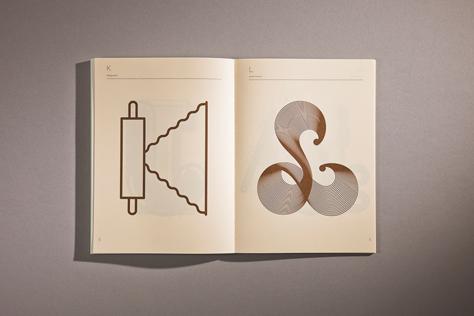 página libro food chocolate design