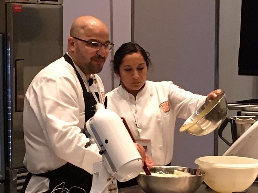 Antonio Bachour fue otro de los chefs ponentes del programa