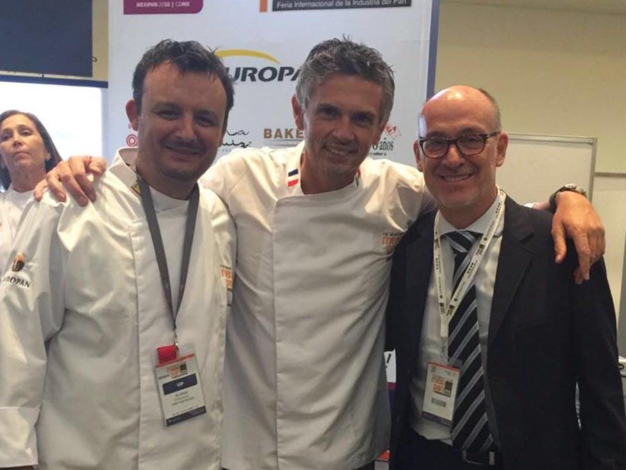 Compartimos buenos momentos junto a Olivier Fernández y Christophe Adam